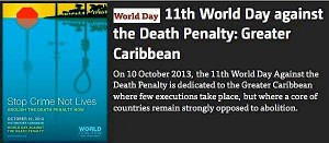 11th World Day Against the Death Penalty – 10-10-13