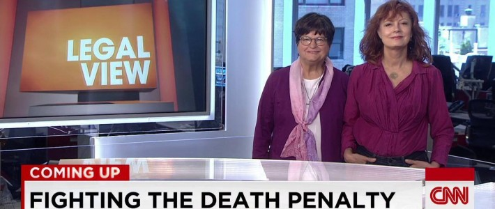 Sister Helen Prejean (left) and actress Susan Sarandon appeared on Legal View with Ashleigh Banfield on CNN to save the life of death row inmate Richard Glossip.