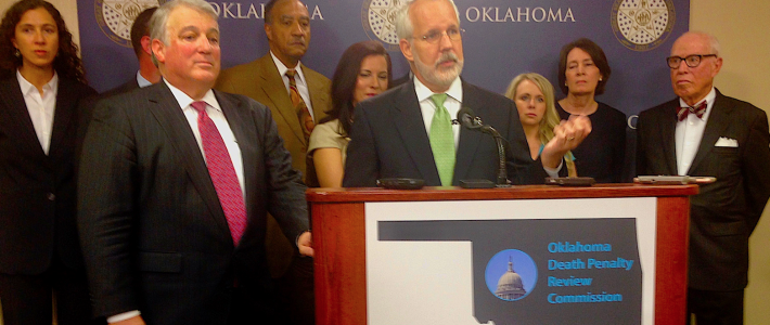 Oklahoma Death Penalty Review Commission recommends extension of execution moratorium